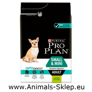 Purina Pro Plan Adult Small Mini Sensitive Digestion Lamb 3kg