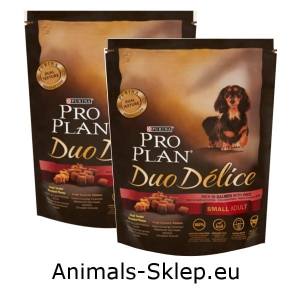 Purina Pro Plan Duo Delice Small Mini Adult łosoś z ryżem 700g + 700g
