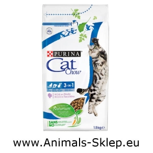Purina Cat Chow Special Care 3w1 1,5kg