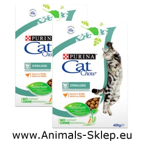 Purina Cat Chow Special Care Sterilized 400g + 400g