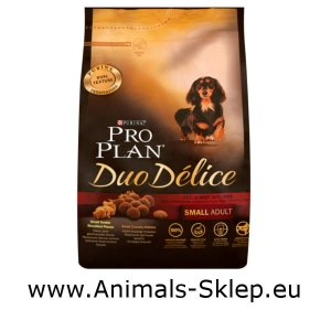 Purina Pro Plan Duo Delice Small Mini Adult wołowina z ryżem 2,5kg