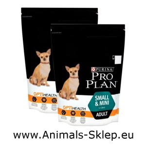 Purina Pro Plan Adult Small Mini 700g + 700g